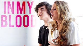 Download Lagu Shawn Mendes - In My Blood (Emma Heesters & Alexander Stewart Cover) Gratis STAFABAND