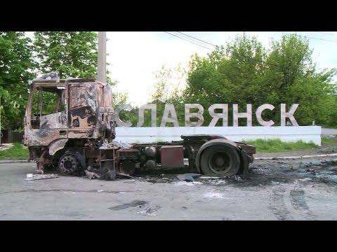 Ukraine: reportage au coeur de Slaviansk, bastion des pro-russes