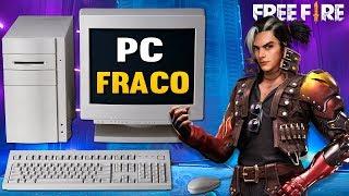 Como Jogar Free Fire em PC FRACO 2019 ( Melhor emulador , Sem Virtualização ) Tutorial ATUALIZADO