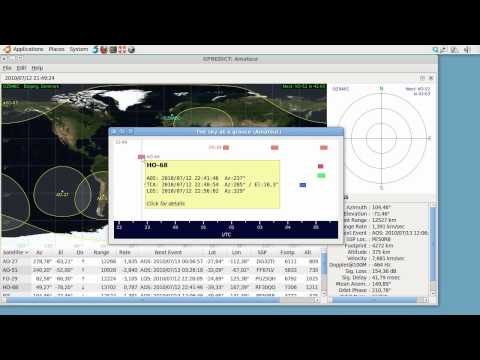 Satellite Tooltips in Gpredict