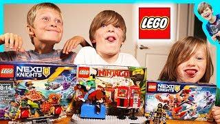Lego Pretend Play Ninjago and Nexo Knights Battle
