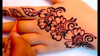 ᴴᴰ Henna Tangan Simple