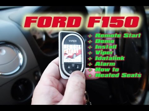 Ford F150 Remote Start Viper. Idatalink Bypass. 5704 Car Alarm System (2005 Ford F-150)