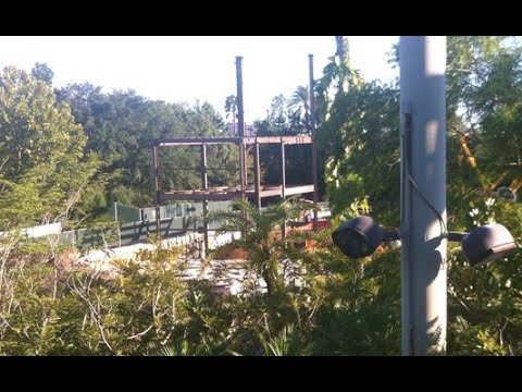 Vertical Construction Starts on Rumored New King Kong Ride at Universal Orlando