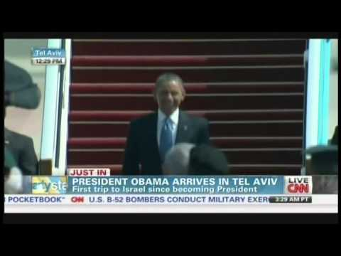 President Obama arrives in Tel Aviv Israel (March 20, 2013)