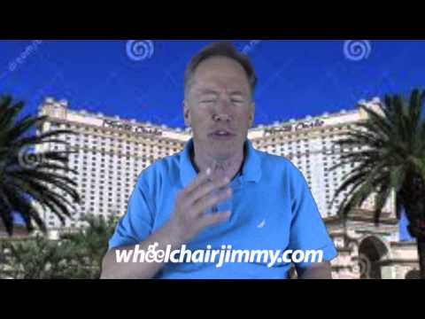 WheelchairJimmy.com Las Vegas Monte Carlo Hotel and Casino
