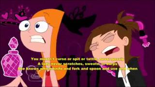 Watch Phineas & Ferb How To Be A Lady video