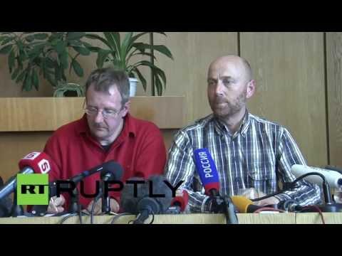 Ukraine: German OSCE officer says team was on diplomatic mission