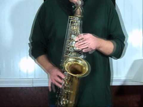 Olds Alto Sax video
