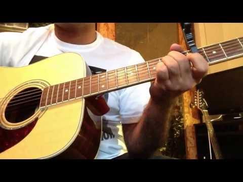 Aaj kal tere mere pyar ke charche acoustic guitar cover