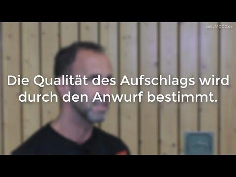 Qualität im Aufschlag: Anwurf! - Jens Tietböhl