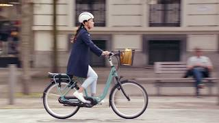 Saturday in the City with the Gazelle EasyFlow Electric Bike