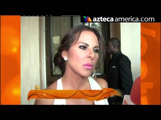 Kate del Castillo ¿Se burla de novia de Aarón Díaz?