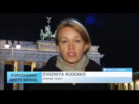 Poroshenko and Merkel Discuss Potential Peace Deal: UT Correspondent Reports from Berlin