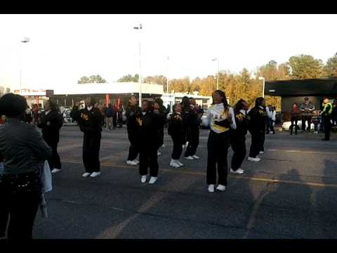 Peabody Middle School cheerleaders, Petersburg, VA