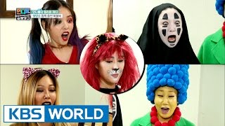 Sister's Halloween party Makeover? [Sister's Slam Dunk/2017.01.20]