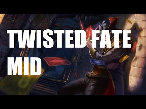 League of Legends Ranked - Twisted Fate Mid - Full Game Commentary