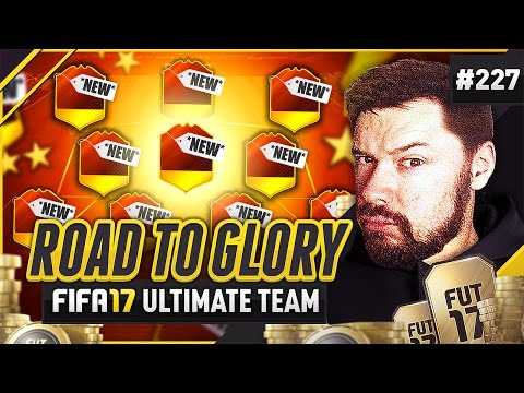 NEW SQUAD GAMEPLAY! - #FIFA17 Road to Glory! #227 Ultimate Team
