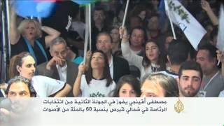 مصطفى أقينجي يفوز في الجولة الثانية في شمالي قبرص
