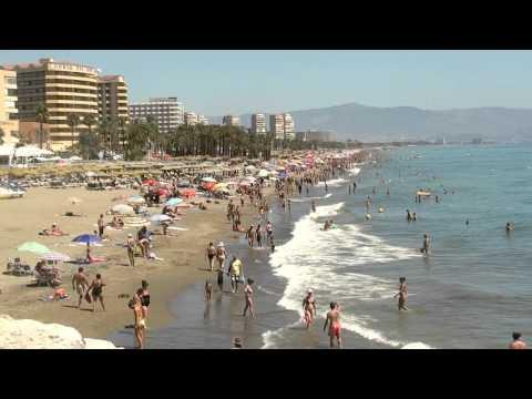 Playa Del Bajondillo Torremolinos Andalucia