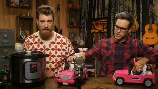 Rhett and link Barby crash WARNING GRAPHIC!!!