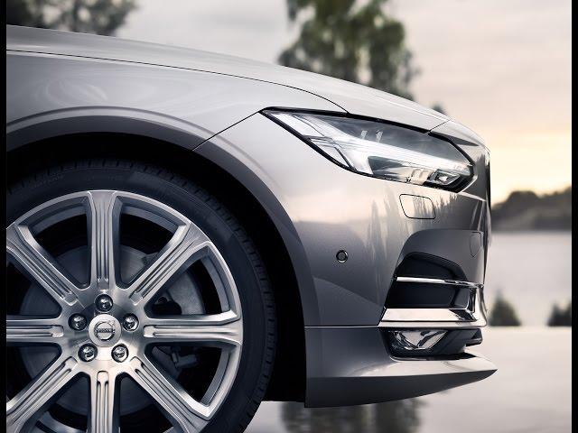 The New Volvo V90: Live Reveal - YouTube