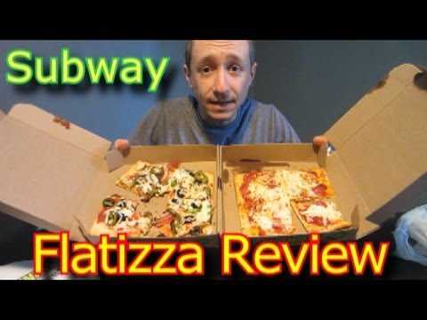GG ep. 17 - Subways Veggie/Italian Flatizza! Flatbread Pizza Review