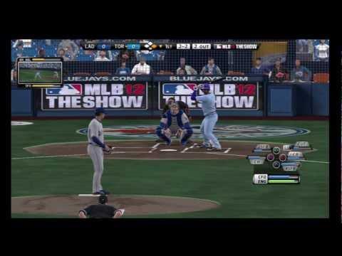 Mlb 12 The Show 2013 Toronto Blue Jays(Mark Buehrle) Vs L.A Dodgers(Josh Beckett)