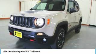 2016 Jeep Renegade Holzhauer Auto and Motorsports Group PC81408