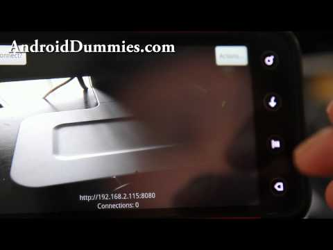How to Turn Your Android Smartphone or Tablet into a Security IP Webcam!