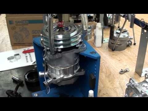 Sanden Compressor Clutch Removal. SD7 & SD5