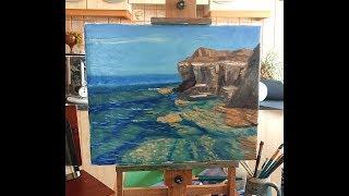 Transparent Ocean - Landscape Painting