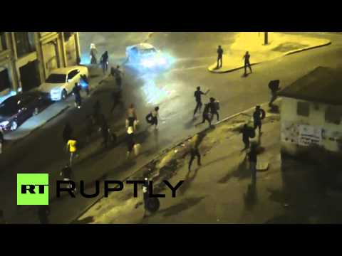 Bahrain: See fires rage in angry Molotov-infused protest