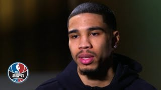 Jayson Tatum wants to retire with the Celtics, looks ahead to NBA playoffs   | NBA on ESPN