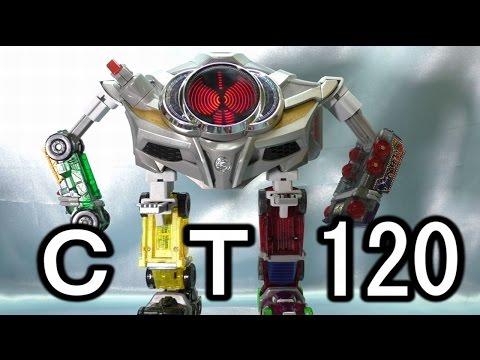 CT120 劇中完全再現!? ベルトさんロボ ドライブドライバーに取付キット beltsan  robot kit review