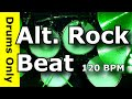 Backing Track Alternative Rock Drum Beat 120 BPM JimDooley Net mp3