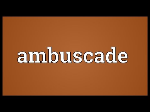 Header of ambuscade