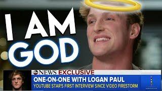 LOGAN PAULS HORRIBLE INTERVIEW