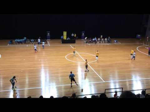 24/01/2016 International Futsal Friendly Australia vs Solomon Islands 1st Half