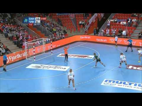 Larvik vs Viborg - EHF Champions League Main Round Full match in HD 07 02 2015