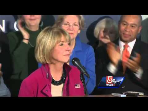 Emotional Coakley thanks supporters, urges women to get involved