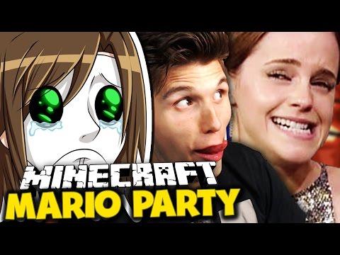 EMMA WATSON HASST GERMANLETSPLAY ✪ Minecraft Mario Party mit Germanletsplay