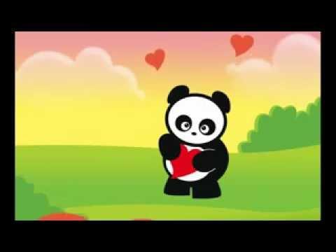 Panda Anime Love Love Panda Animation Www