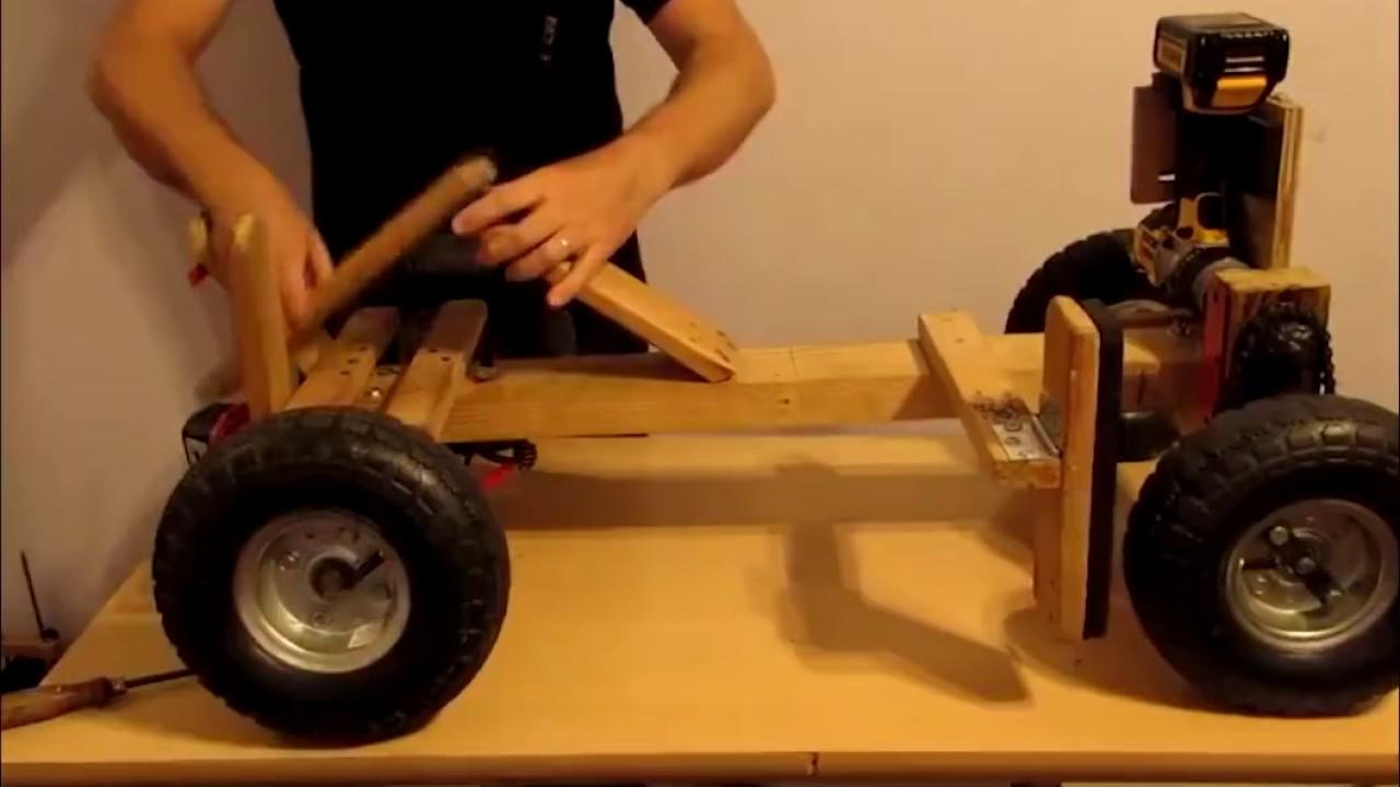 Как сделать электромобиль для детей своими руками 98
