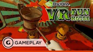 NVIDIA VR Funhouse Carnival Gameplay