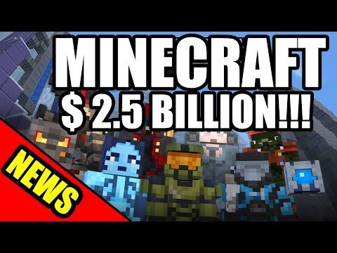 Microsoft buys Mojang and Minecraft for 2.5 billion dollars - News Flash Extra