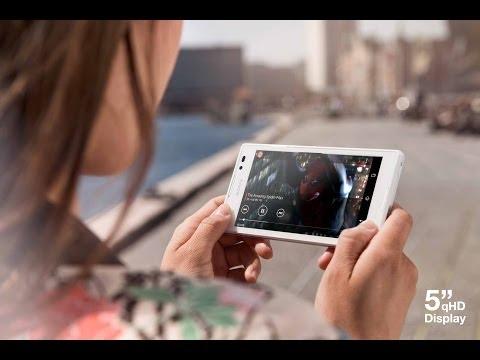 Видео как снять крышку Xperia M