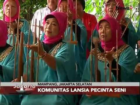 Inilah Komunitas Lansia Pecinta Seni Musik Calung - Jakarta Today 12/08