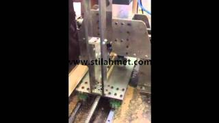 Copying rotating milling machine for brooms and brushes (Otomatik Kopyalama Makinası)