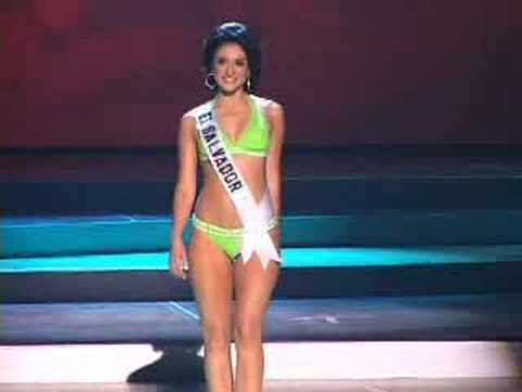El Salvador - Miss Universe 2008 Presentation - Swimsuit